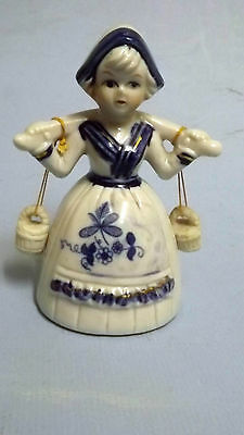 Vintage Dutch Girl Figure Figurine