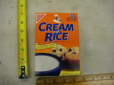 Nabisco Cream of Rice collectible 20 year old sealed full box