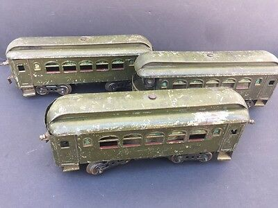 Lionel No.35 New York Central Lines Pullman Cars Lot Of 3