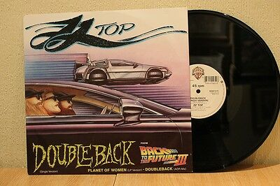 "Zz Top - Doubleback 1990 Warner Bros 12"" 45 Ex+"