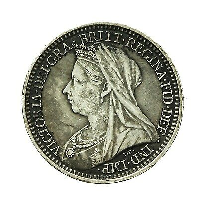 Victoria Silver Maundy Twopence 1900