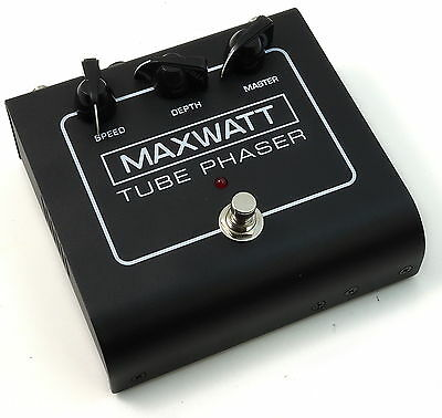 MAXWATT Tube Phaser Guitar Effects Pedal Foot Switch FREE SHIPPING