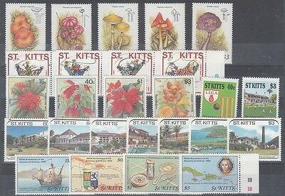 St. Lucia Scott 210 // 272 Mint NH sets (Catalog Value $74.40)