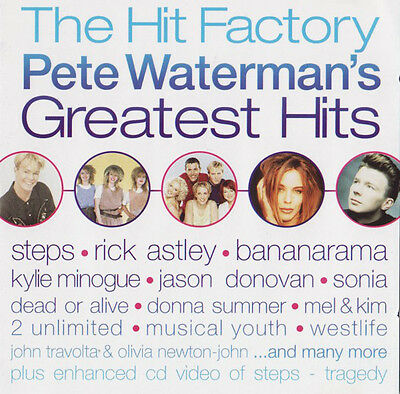 The Hit Factory - Pete Waterman's Greatest Hits-3 CD SET