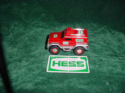 Vacation Gift Hess 2005 Hess Rescue Vehicle Truck Cruiser Toy Truck Collectibles