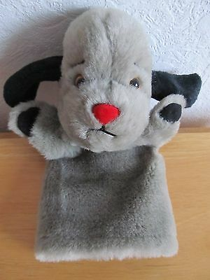 """Sooty Show Sweep plush hand puppet with squeak 11"""""""