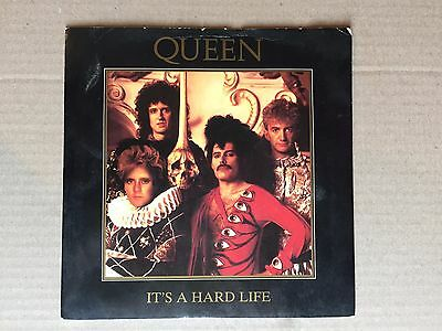 "QUEEN - It's a hard life -  7"" Single EX Con"