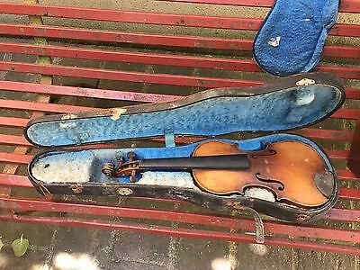 Violon ancien Modèle D'apres Georg kloz In Milten Old Violin
