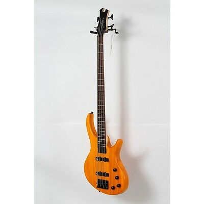 Tobias Toby Deluxe-IV Electric Bass Transparent Amber 888366026205