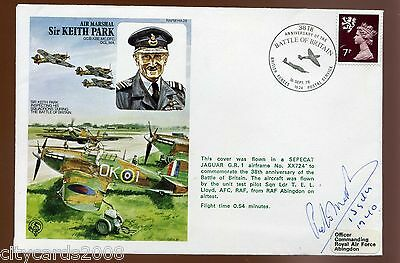 1978 Keith Park RAF Cover  signed P Matthews  1  Sqn Battle of Britain