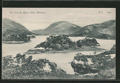 alte AK Killarney, The Islands, Upper lake