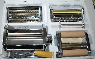 Three MARCATO ATLAS MULTIPAST RAVIOLI PASTA SPAGHETTI MACHINE MAKERS