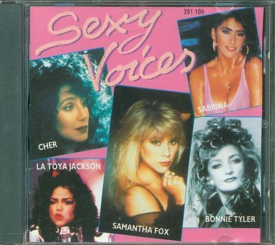 Sexy Voices - Samantha Fox/Sabrina Salerno/Heather Parisi/Amanda Lear Cd Ottimo