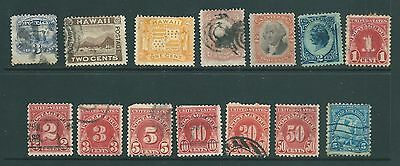 USA - Vintage stamp collection including Revenues, Hawaii & Postage Dues
