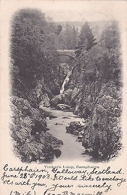 SCOTLAND - Tinker's Loup - Carsphairn 1903