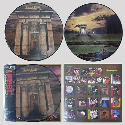 JUDAS PRIEST 'Sin After Sin' Japan picture-disc vinyl LP w/insert
