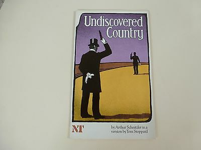 The National Theatre Programme 1979 'Undiscovered Country' Tom Stoppard