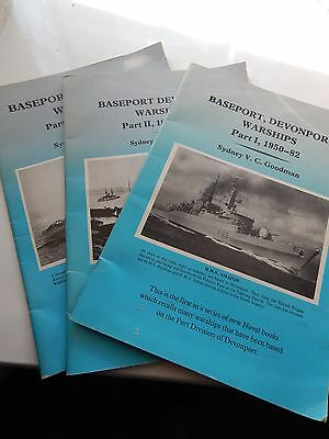 baseport Devonport Warships Parts 1,2 & 3  Sydney V C Goodman