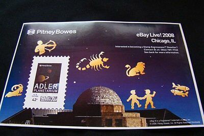 eBay Live Chicago 2008 Adler Planetarium Stamp 42 cent Commemorative Stamp