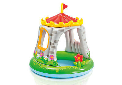 Intex Royal Castle Baby Pool Inflatable Kiddie Wading Swimming Pool Ball Pit