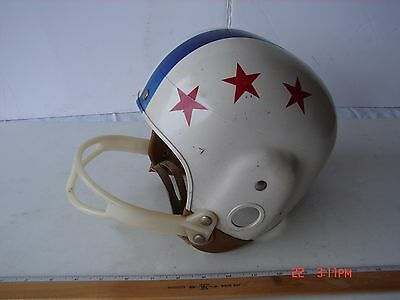Vintage Childs Macgregor Football Helmet Plastic With Chin Strap Marked L