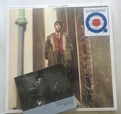 The WHO QUADROPHENIA DOUBLE GREEN VINYL LP & DELUXE 2 CD Sealed Record Store Day