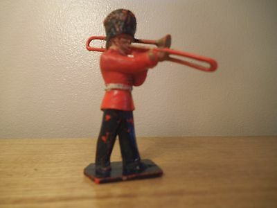 LONE STAR Bandsman with trombone