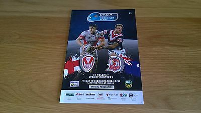 2016 St Helens v Sydney Roosters - World club Series