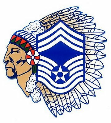 Air Force Chief Master Sergeant Decal