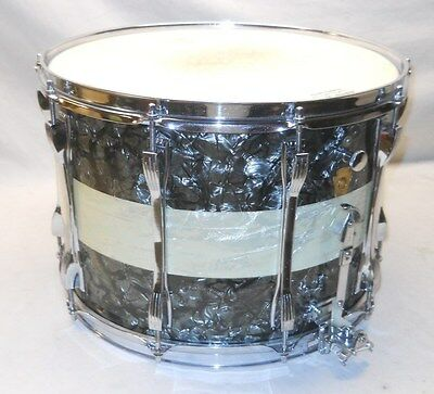 Absolutely Stunning Vintage 1967 Ludwig 3-Band Pearl Super-Sensitive Snare Drum