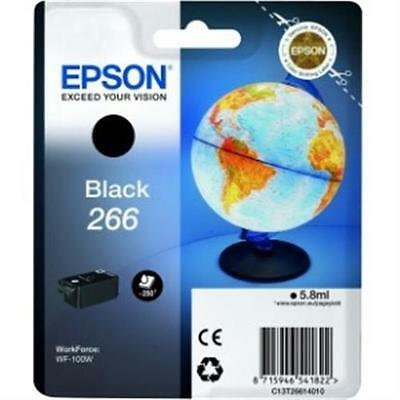 Epson Single Pack Black 266 ink Cartridge C13T26614010 Black 250 Pages 1 Pack