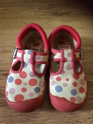 GC Infant Girls Clarks Doodles Size UK 7F
