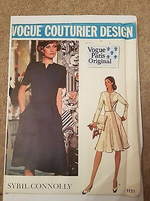 Vogue Vintage Couturier Sewing Pattern Sybil Connelly