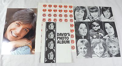 Vtg DAVID CASSIDY The Partridge Family Fan Club Lot Original Tiger Beat 1970s
