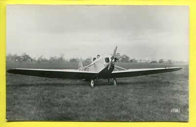 1920s Parnell Pixie Monoplane Photo by Real Photographs Co Ltd