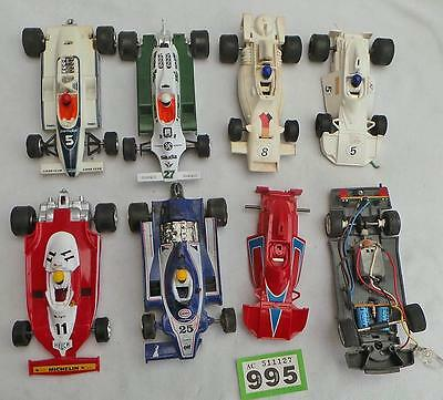 G995 Vintage Scalextric car spare parts with working motors