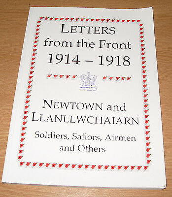 Newtown and Llanllwchaiarn Powys - Letters From The Front 1914-1918 WWI History