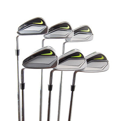 New Nike Vapor Pro Combo Forged Irons 5-PW Stiff Flex Steel LEFT HANDED