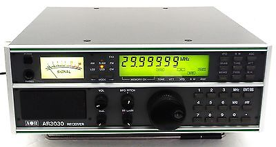 Aor Ar3030 3030 Shortwave Ssb Radio Receiver + Collins 6Khz Am Mechanical Filter