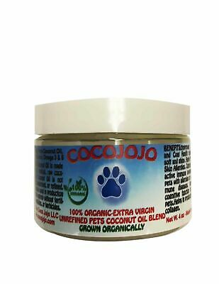 Pet conditioning treatment for itchy dry skin and paws with coconut & omega 3-6