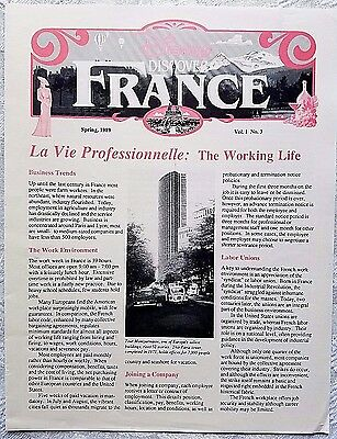 Rare Spring 1989 Euro Disney Disneyland Paris Discover France Cast Newsletter