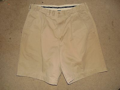 Polo Ralph Lauren Men's Chino Shorts Beige Size 34 Used Cotton