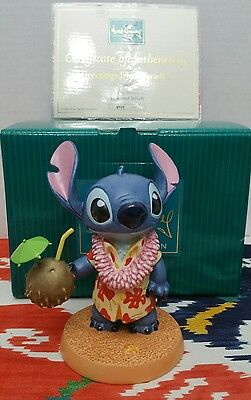 """Disney WDCC Stitch """"Greetings from Paradise"""" Limited Edition #2717/4000 Rare"""