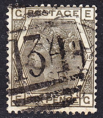 Great Britain Scott 62  Plate 16  F to VF used.