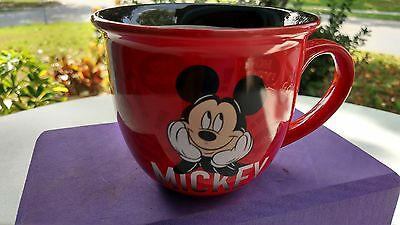 NEW DISNEY Store Red Mickey Mouse Character Mug Cup SWEET!