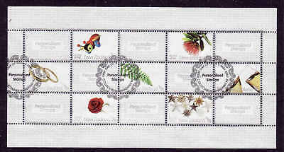 D1-New Zealand-Sc#2138-used sheet-Greetings-2009-