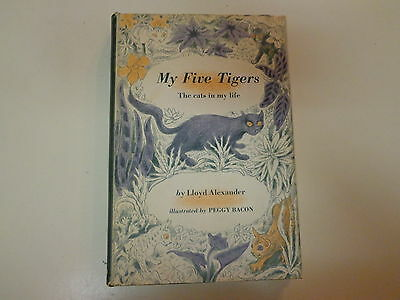 My Five Tigers - The Cats in My Life 1956 HBDJ Lloyd Alexander