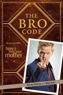 NEW The Bro Code By Barney Stinson Paperback Free Shipping