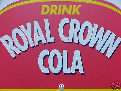 RC & MOON PIE Royal Crown Cola GAS STATION / COUNTRY STORE -NOS Thermometer Sign