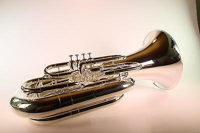 Jupiter Model 582S Four Valve 4/4 BBb Tuba in Silver MINT QuinnTheEskimo